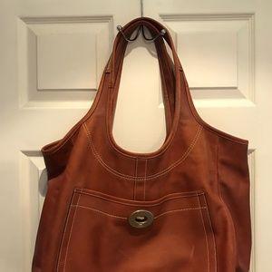 Coach Ergo Leather Large Tote Bag